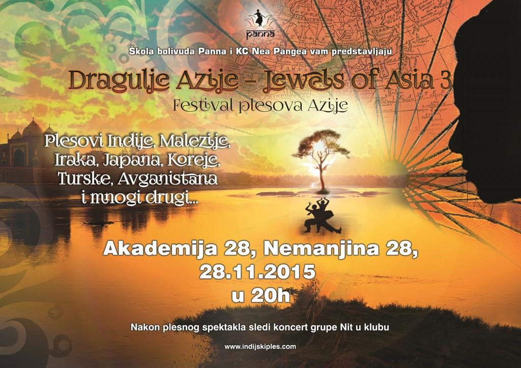 Plakat Dragulji Azije